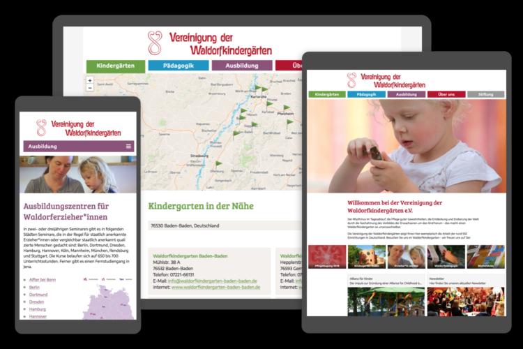 Abbildung Projekt Waldorfkindergarten